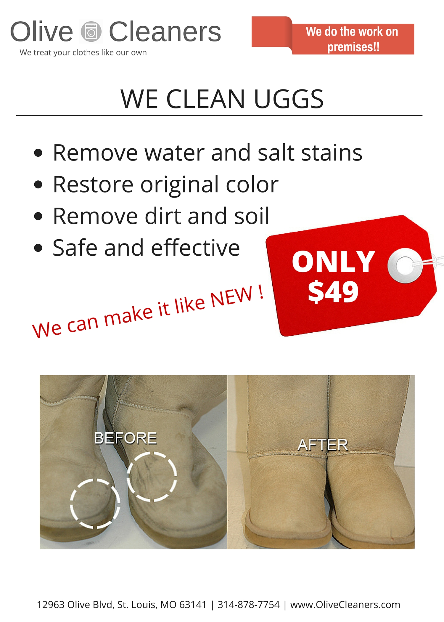 UGGs Cleaning